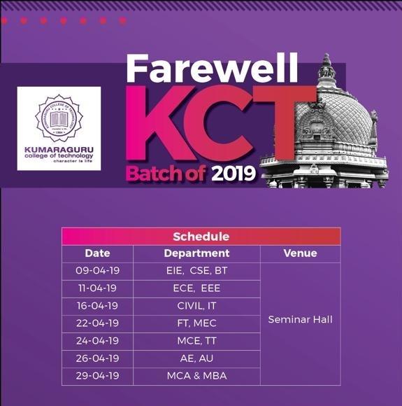Farewell - 2019