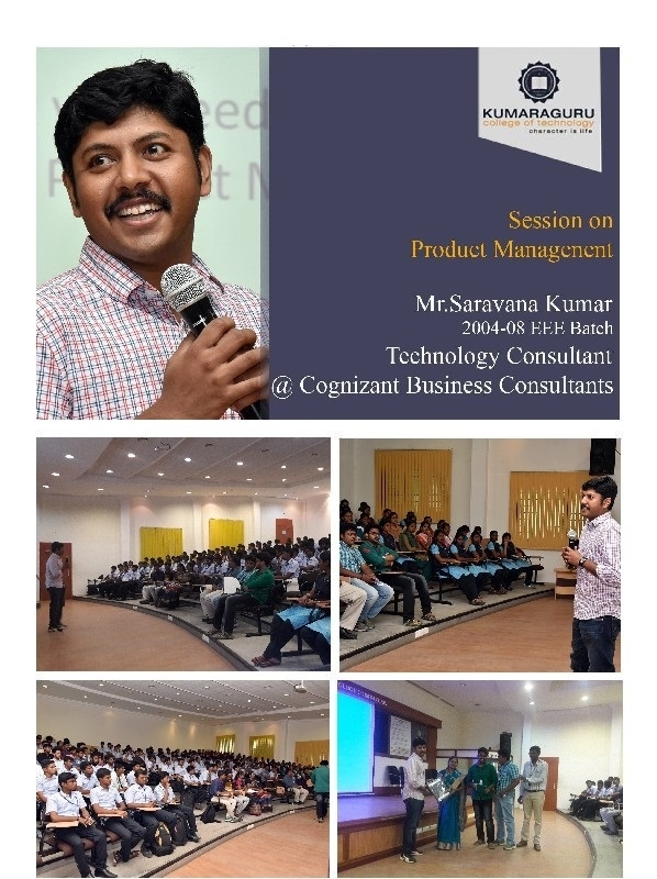 Session on Product Management