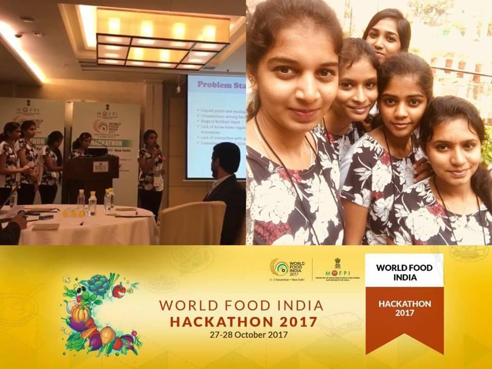 World Food India Hackathon 2017