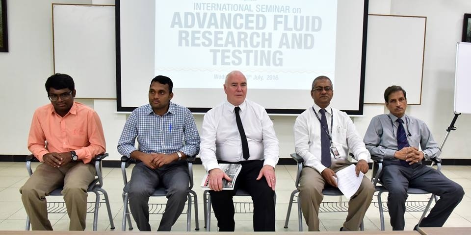 International Seminar on Advanced fluid Research & Testing