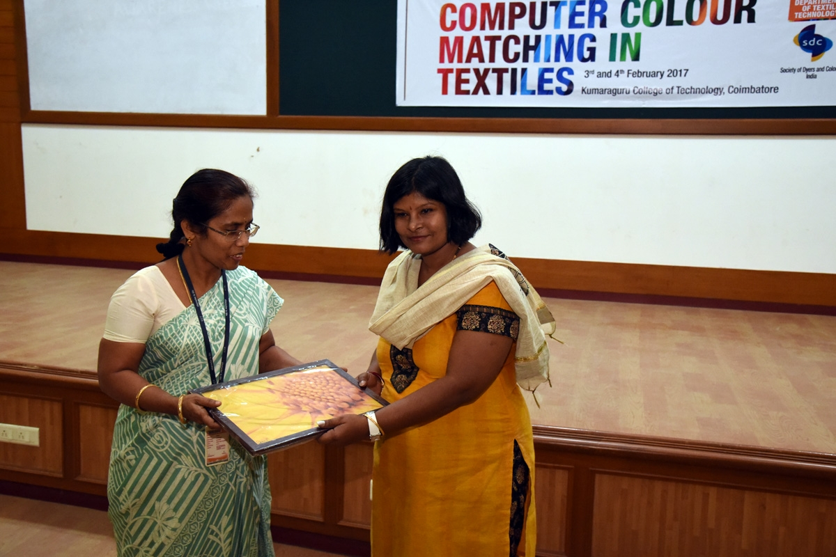 Workshop on Computer Colour Matching in Textiles