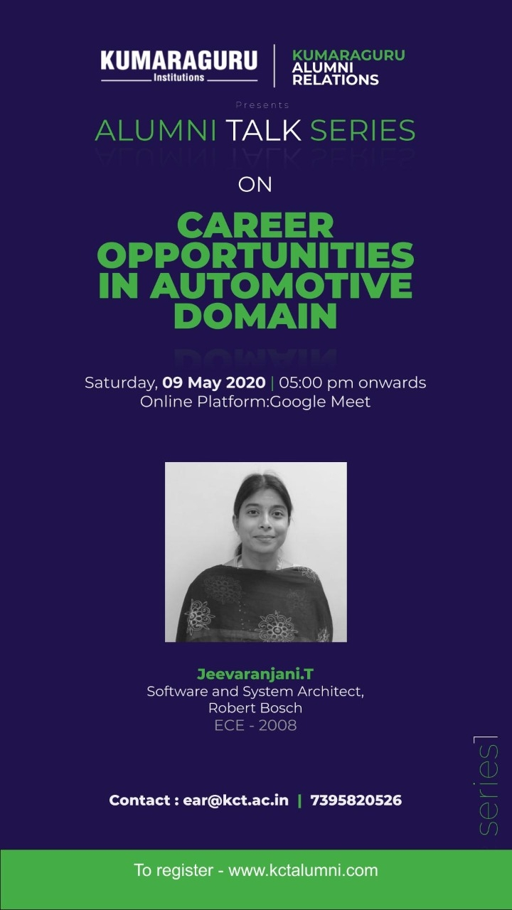 Career Opportunities in Automotive Domain