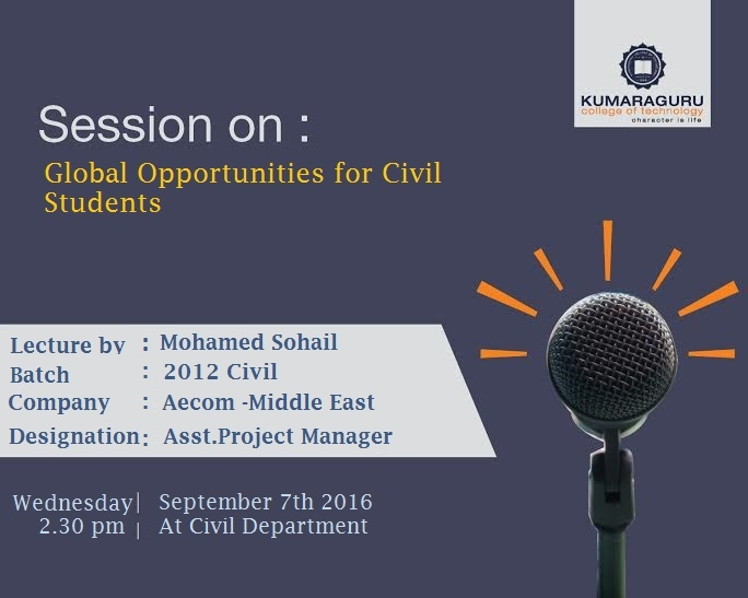Global Opportunities for Civil students