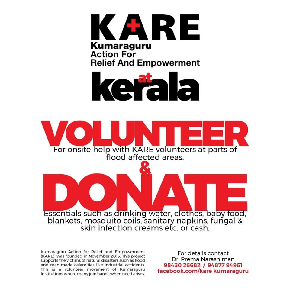 HELP - Kerala Flood Relief