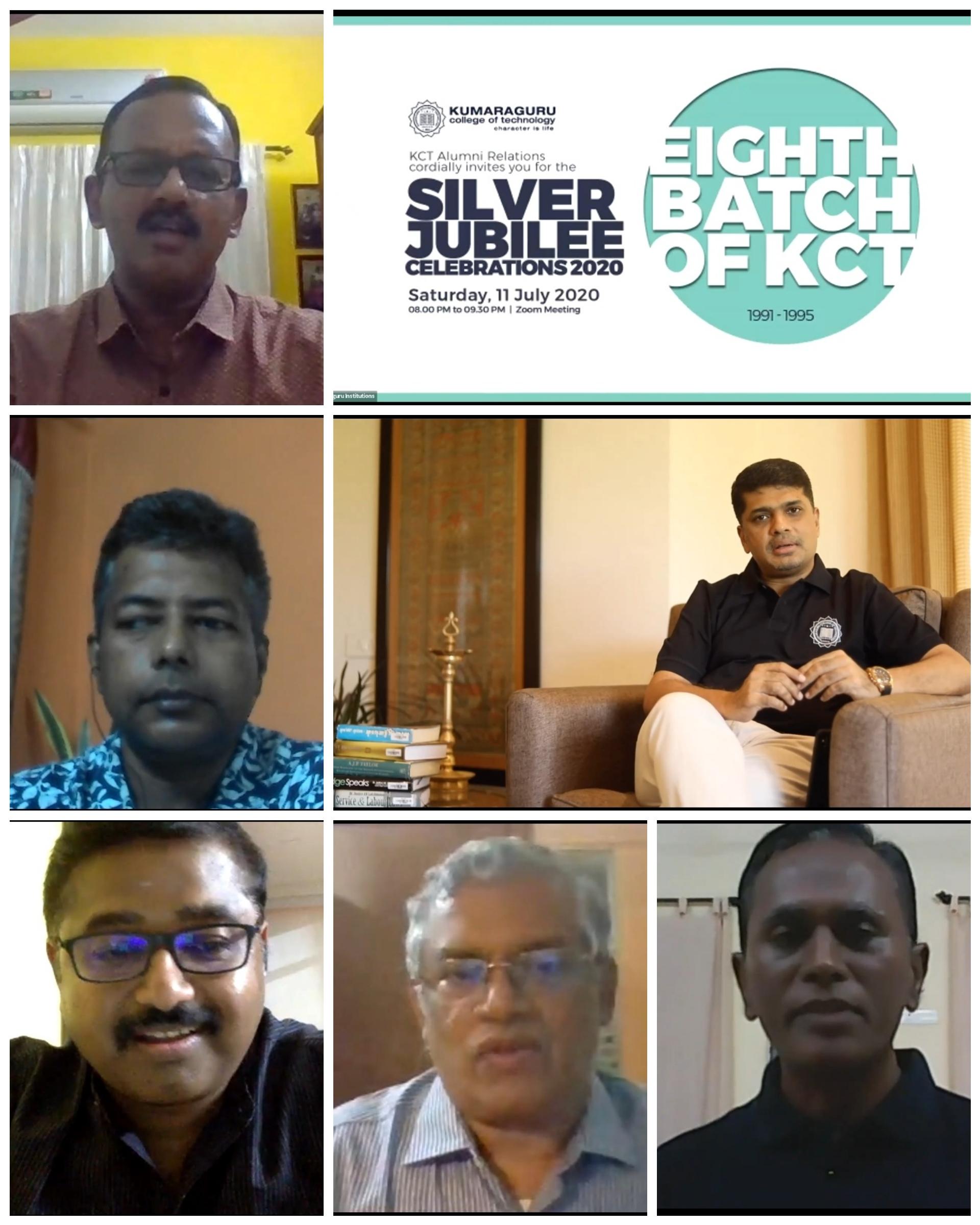 Silver Jubilee Virtual Meet - Batch 1995