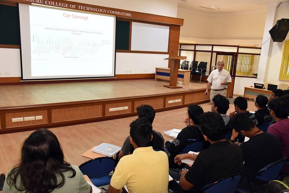 Seminar for SAE International - Formula Studen