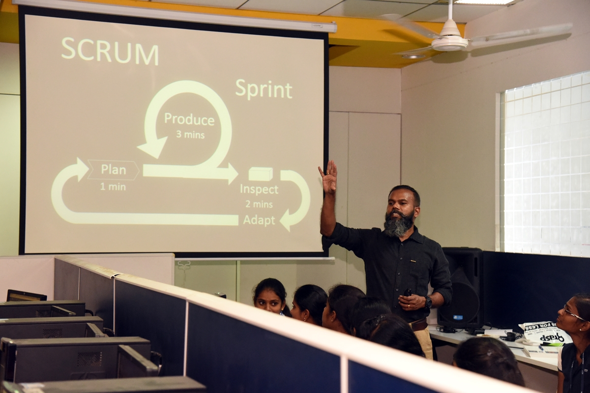 Workshop on DevOps & Agile by Deraviyam jacob -KCT 1999 batch